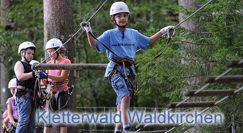 Kletterwaldzentrum Bayerwald